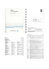 Servicehandboek Wandelgoltermann PS-10