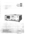 Manual de serviço Wandelgoltermann DA-10