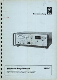 Bedienungsanleitung Wandelgoltermann SPM-6