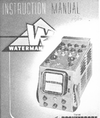 Service Manual Waterman S-15A