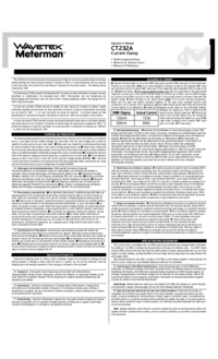 Wavetek-11119-Manual-Page-1-Picture