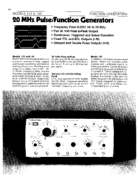 Datenblatt Wavetek 145
