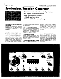 Wavetek-6375-Manual-Page-1-Picture