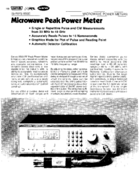 Wavetek-6388-Manual-Page-1-Picture