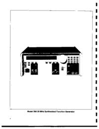 Datenblatt Wavetek 288