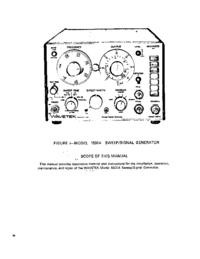 Wavetek-6422-Manual-Page-1-Picture