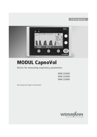 Руководство по техническому обслуживанию Weinmann MODUL CapnoVol WM 22440