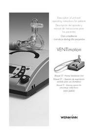 Instrukcja obsługi Weinmann VENTImotion WM 24800