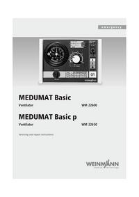 Servicehandboek Weinmann MEDUMAT Basic p WM 22650