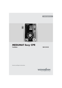 Manual de servicio Weinmann MEDUMAT Easy CPR WM 28140