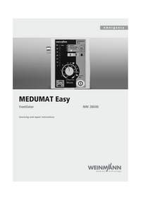 Service Manual Weinmann MEDUMAT Easy WM 28000