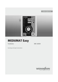 manuel de réparation Weinmann MEDUMAT Easy WM 28000