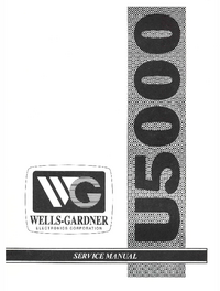 Manual de servicio WellsGardner U5000