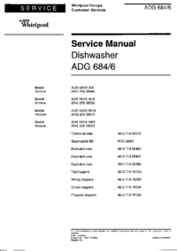 Service Manual Whirlpool ADG 684/6