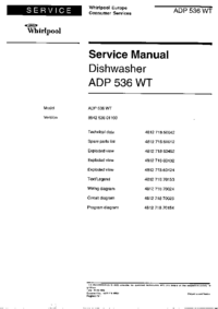 Service Manual Whirlpool ADP 536 WT