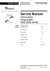 Service Manual Whirlpool ADG 3556 WHM