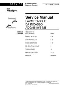 Manual de servicio Whirlpool ADG 9540/3 NB