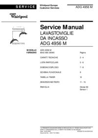 Servicehandboek Whirlpool ADG 4956 M