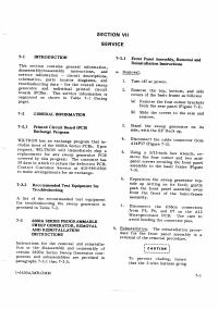 Manuale di servizio Wiltron 6600A Series