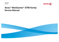 Manual de servicio Xerox WorkCentre 5790 Family