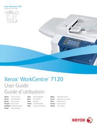 Bedienungsanleitung Xerox WorkCentre 7120
