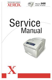 Instrukcja serwisowa Xerox Phaser 8400