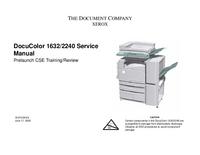 Serviceanleitung Xerox DocuColor 1632