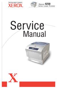 Instrukcja serwisowa Xerox Phaser 6250