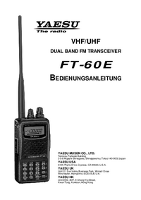 Manual del usuario Yaesu FT-60E
