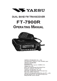 Manual del usuario Yaesu FT-7900R