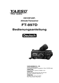 Manual del usuario Yaesu FT-897D