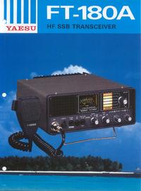 Datasheet Yaesu FT-180A