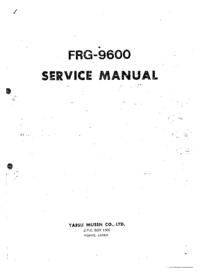Руководство по техническому обслуживанию Yaesu FRG-9600