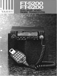 Manual de serviço Yaesu FT-6200