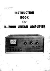 Servizio e manuale utente Yaesu FL-2000