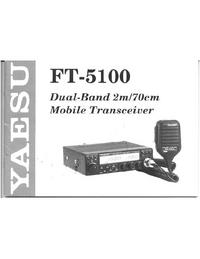 Bedienungsanleitung Yaesu FT-5100