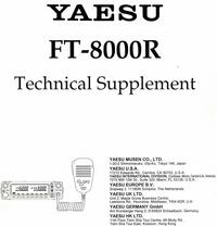 Manual de servicio Yaesu FT-8000R
