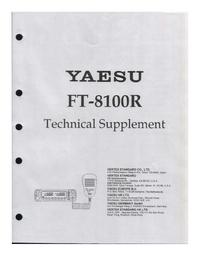 Serviceanleitung Yaesu FT-8100R