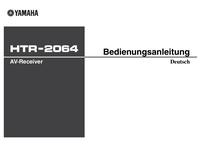 User Manual Yamaha HTR-2064