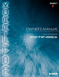 Manuel de l'utilisateur Yamaha MOTIF-RACK