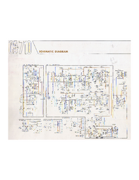 Cirquit Diagram Yamaha CA-710