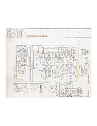 Schéma cirquit Yamaha CA-710