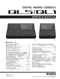 Service Manual Yamaha QL5