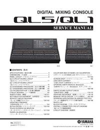 Serviceanleitung Yamaha QL5