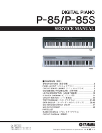 Service Manual Yamaha P-85S