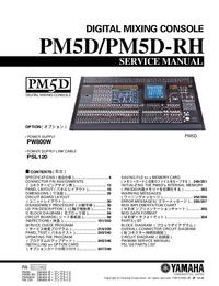 Serviceanleitung Yamaha PM5D-RH