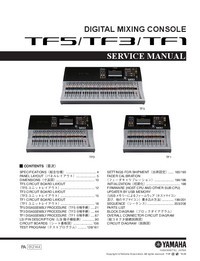 Manual de servicio Yamaha TF1