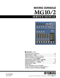 Service Manual Yamaha MG10/2