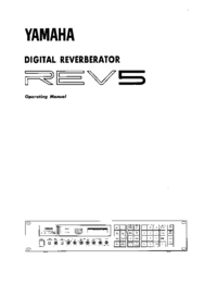 User Manual Yamaha REV5