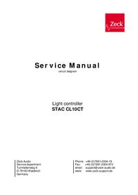 Schéma cirquit Zeck STAC CL10CT